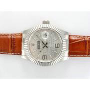 Replique Rolex Datejust automatique avec la nouvelle version grise 15716
