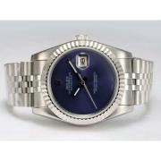 Replique Rolex Datejust automatique avec cadran bleu 15895