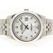 Replique Rolex Datejust II diamant marquage automatique avec une vadrouille-41mm version ligne 5700