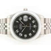 Replique Rolex Datejust II Swiss ETA 2836 marqueurs numéro de mouvement avec la version cadran gris-41mm 6322