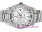 Replique Rolex Day-Date II Swiss ETA 2836 Mouvement d'or diamant cz pleine lunette avec une vadrouille ligne 2357