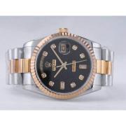 Replique Rolex Day-Date eta suisse 2836 Mouvement beige dial-romain de marquage 10313