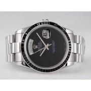 Replique Rolex Day-Date eta suisse 2836 Mouvement cadran bleu-romaine de marquage 10316
