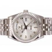 Replique Rolex Day-Date eta suisse 2836 Mouvement avec cadran noir nombre d'onde de marquage 10357