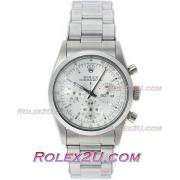 Replique Rolex Daytona chronographe automatique complète café or brun lunette bâton index diamants avec cadran noir 1037