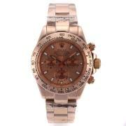 Replique Rolex Daytona de travail or le cas du chronographe et le cadran - autocollant marquage lunette sertie de diamants 9605