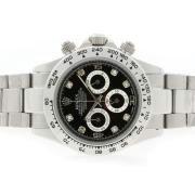 Replique Rolex Daytona de travail or le cas du chronographe et le cadran - le marquage des diamants et de la lunette 9614