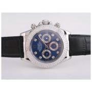 Replique Rolex Daytona Valjoux 7750 en Asie du chronographe plein mouvement or rose avec cadran champagne 9946