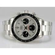 Replique Rolex Daytona Valjoux asie chronographe 7750-plein d'or baguette mouvement diamant cz lunette 11934