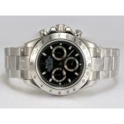 Replique Rolex Daytona chronographe travailler avec cadran blanc 12482