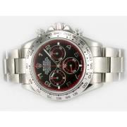 Replique Rolex Daytona chronographe automatique à deux diamants ton marquage avec cadran or 12540