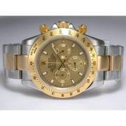 Replique Rolex Daytona chronographe baguette de diamants lunette cz automatique avec cadran gris 13521