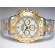 Replique Rolex Daytona automatique chronographe de diamants de marquage et de la lunette avec une vadrouille ligne 13659