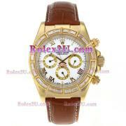 Replique Rolex Daytona chronographe automatique cz lunette nombre index diamants avec cadran noir 1722
