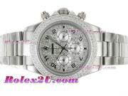 Replique Rolex Daytona chronographe travail pvd avec cadran noir 1735