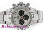 Replique Rolex Daytona chronographe travailler avec cadran noir et bracelet 3636