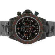 Replique Rolex Daytona travail chronographe avec le bleu de ratissage diamant marqueurs ligne 4799