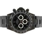 Replique Rolex Daytona plein chronographe en or de travailler avec des marqueurs d'accès à distance numéro blanc 4811