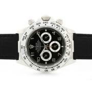 Replique Rolex Daytona Hunter Pro plein chronographe pvd travailler avec cadran noir numéro de marquage 6746