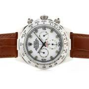 Replique Rolex Daytona Hunter Pro plein chronographe pvd travailler avec météorite dial-clé de marquage 6747