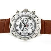 Replique Rolex Daytona Hunter Pro plein chronographe pvd travailler avec cadran blanc numéro de marquage 6750