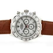 Replique Rolex Daytona Hunter Pro travaillant à plein pvd chronographe avec une vadrouille dial-romain de marquage 6751