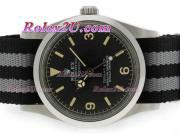 Replique Rolex GMT-Master ii automatique à deux tons avec cadran noir 15270