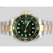 Replique Rolex Datejust automatique de diamant d'or pleine de marquage avec cadran rouge 12543
