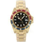 Replique Rolex Datejust automatique de diamant d'or pleine de marquage avec cadran noir 12546