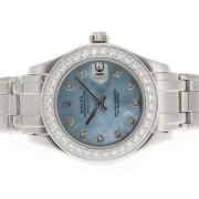 Replique Rolex Masterpiece eta suisse 2836 marqueurs romaine mouvement avec cadran argenté 4594