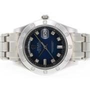 Replique Rolex Masterpiece eta suisse 2836 diamants mouvement de marquage et de la lunette avec cadran noir 5397