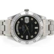 Replique Rolex Masterpiece eta suisse 2836 diamants mouvement de marquage et de la lunette avec cadran gris 5389