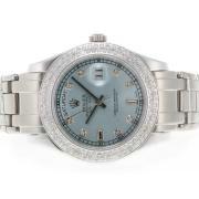 Replique Rolex Masterpiece eta suisse 2836 diamants mouvement de marquage avec cadran noir 5402