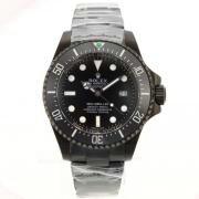 Replique Rolex Submariner comex automatique avec cadran noir et bracelet en nylon vintage en édition lunette 15860