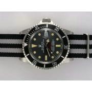 Replique Rolex Submariner harley davidson Swiss ETA 2836 Mouvement avec mise à jour brun lunette version 14214