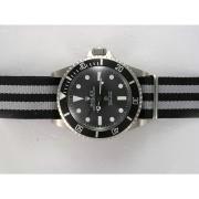 Replique Rolex Submariner Tiffany & Co automatique avec cadran noir et lunette édition vintage 15843