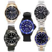 Replique Rolex Submariner les ventes de forfaits pour 5 montres 18094