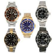 Replique Rolex Submariner les ventes de forfaits pour 5 montres 18105