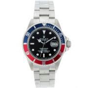 Replique Rolex Submariner automatique bleu / rouge lunette avec cadran noir 8457