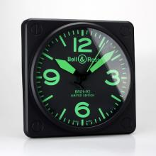 Replik Bell & Ross BR01-92 Wall Clock with Green Markers 39657