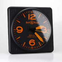 Replik Bell & Ross BR01-92 Wall Clock with Orange Markers 39656