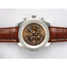 Replique Breitling for Bentley Motors travail Chronographe avec cadran brun - Attractive Breitling Bentley Regarder pour vous 27011