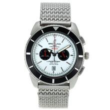 Replique Breitling Super Ocean travail chronographe avec cadran blanc S / S - Attractive Breitling Super Ocean Watch pour vous 26331