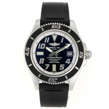 Replique Breitling Super Ocean Steelfish Swiss ETA 2824 Mouvement avec cadran noir-blanc Lunette intérieure - Attractive Breitling Super Ocean Watch pour vous 26320