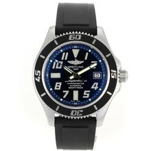 Replique Breitling Super Ocean Steelfish Swiss ETA 2824 Mouvement avec cadran noir-bleu lunette intérieure - Attractive Breitling Super Ocean Watch pour vous 26319