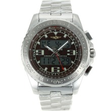 Replik Breitling Emergency Digital Displayer with Brown Dial S/S – Attractive Breitling Emergency Watch for You 26243