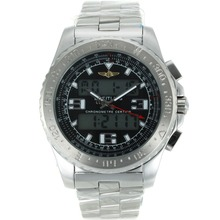 Replik Breitling Emergency Digital Displayer with Black Dial S/S – Attractive Breitling Emergency Watch for You 26242