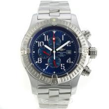 Replique Breitling Chrono Avenger de travail Chronographe avec cadran bleu S / S - Montre Breitling Avenger Chrono attrayant pour vous 26176