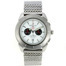 Replique Breitling Super Ocean travail chronographe avec cadran blanc S / S - Attractive Breitling Super Ocean Watch pour vous 26171