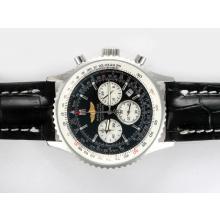 Replique Breitling Navitimer Chronographe de travail avec cadran noir - Attractive Breitling Navitimer montre pour vous 26982